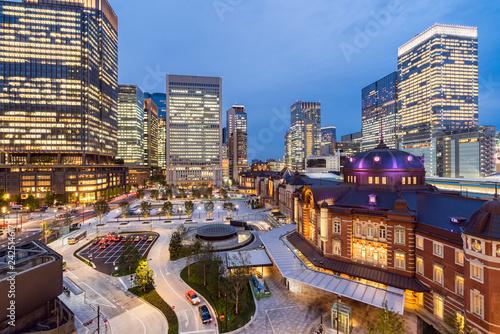 Foto op Aluminium Aziatische Plekken Tokyo Station