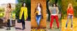 Collage autumn street fashion women