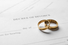Rings With Decree Of Divorce, ...
