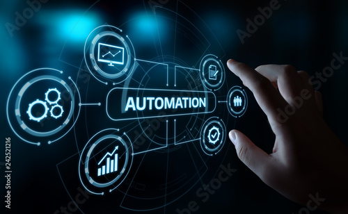 Foto Automation Software Technology Process System Business concept