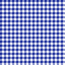 Blue Gingham Seamless Pattern ...