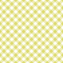 Yellow Gingham Seamless Patter...