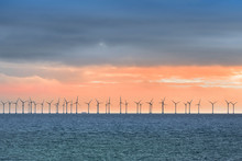 Offshore Wind Turbines Near Co...