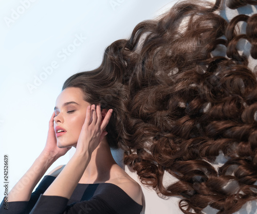 Very Long Thick Hair Of A Beautiful Girl Buy This Stock Photo And Explore Similar Images At Adobe Stock Adobe Stock