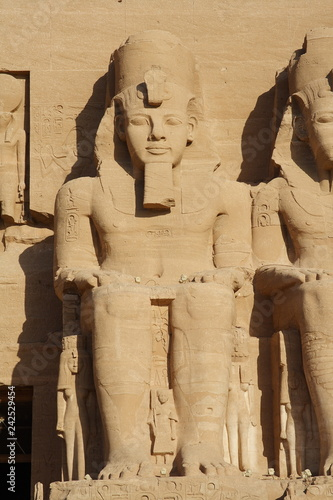 Tuinposter Historisch mon. Świątynia w Abu Simbel