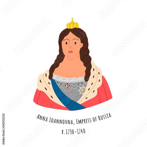 Fotografía Anna Ioannovna Romanova, empress of Russia