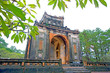 One of the buildings from the Tu Duc Tomb, Hue, Vietnam.