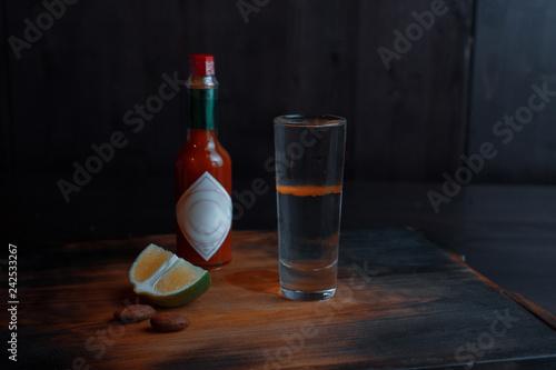 Foto op Aluminium Cocktail Alcoholic cocktail