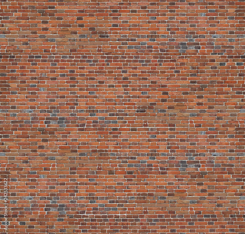 Spoed Fotobehang Baksteen muur Brick texture seamless