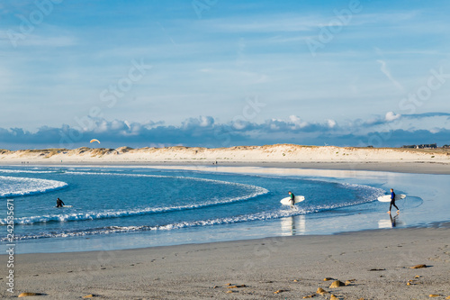 Fotografia  Beach and Atlantic Ocean
