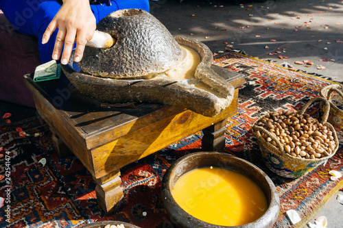 ARGAN OIL Canvas Print