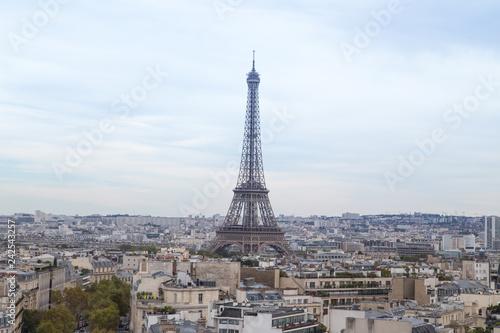 Tuinposter Centraal Europa Paris- Vue aérienne