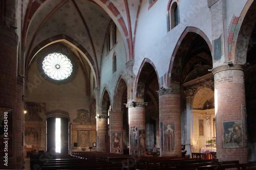 Fotografie, Obraz  chiesa di san francesco a lodi in italia
