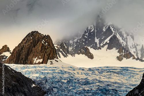 Staande foto Oceanië New Zealand. South Island, Westland Tai Poutini National Park - Fox Glacier