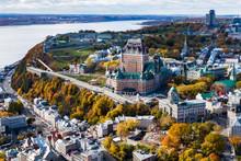 Aerial View Of Quebec City Sho...