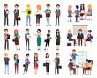 Business Meeting, People Seminar Office Workers