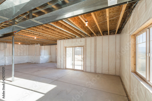 Photo Unfinished Basement