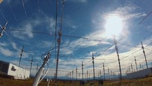HAARP Facility, Center For Aurora Research And Focus Of Several Conspiracy Theories. Alaska, USA.