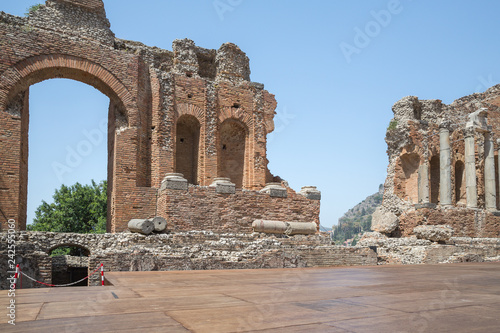 Zdjęcie XXL Widok w Taorminie na Sycylii