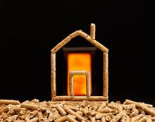 Wood Pellets House