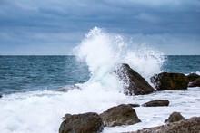 Storm, Waves, Sea, Shore, Nature, Element