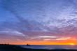 Sunset on the Pacific Ocean Coast, Piedras Blancas State Marine Reserve, San Simeon, California