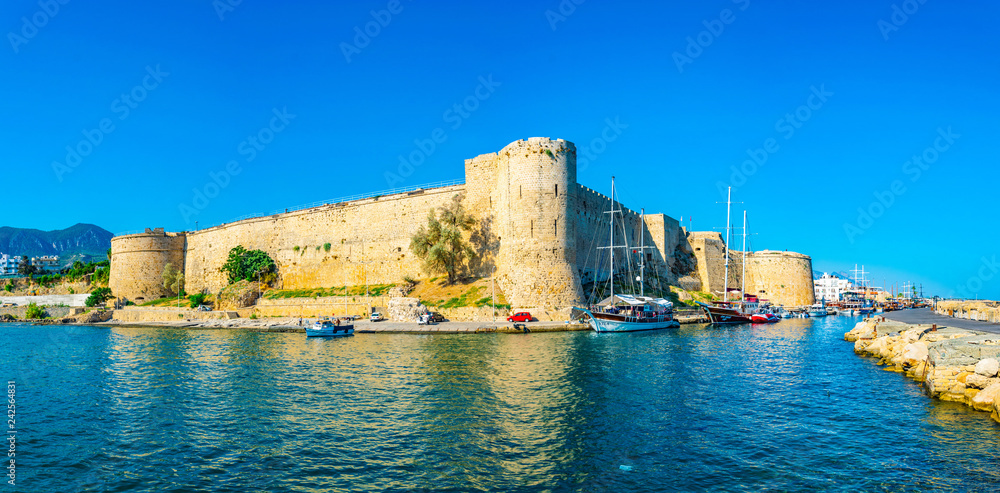 Fototapety, obrazy: Kyrenia Castle situated in the Northern Cyprus