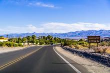 Highway Through Death Valley N...