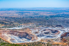 Open Mine In The Northern Cyprus