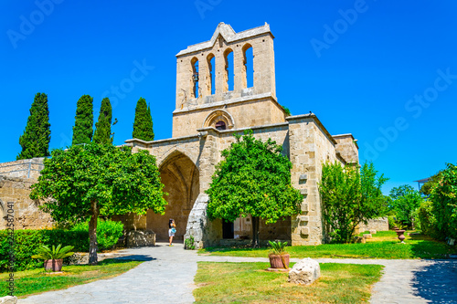 Photo Bellapais abbey at Beylerbeyi village in Northern Cyprus