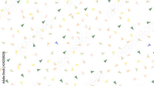 Abstract seamless pattern with triangles in Soft gradient pastel background in sweet color