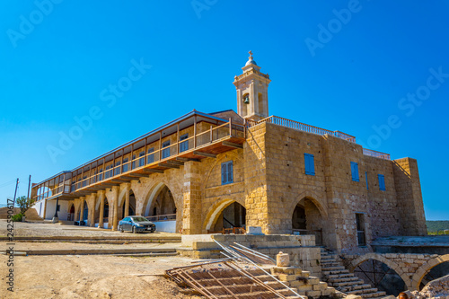 Monastery of Apostolos Andreas on Cyprus Canvas Print