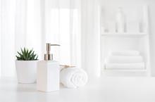Ceramic Soap, Towel, Copy Spac...