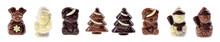 Chocolate Figure Christmas Tre...