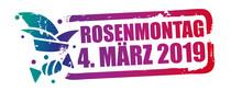 Bunter Stempel Rosenmontag 2019