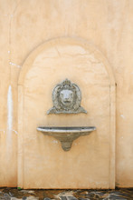 Antique Wash Basin With A Ston...