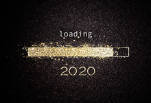 2020 New Year Background With ...