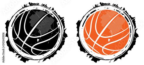 Fotografia  Basketball design- vector illustration for t-shirt