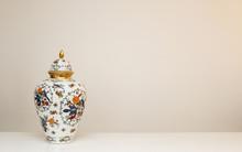 Vase On A White Background