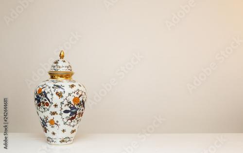 vase on a white background Canvas Print
