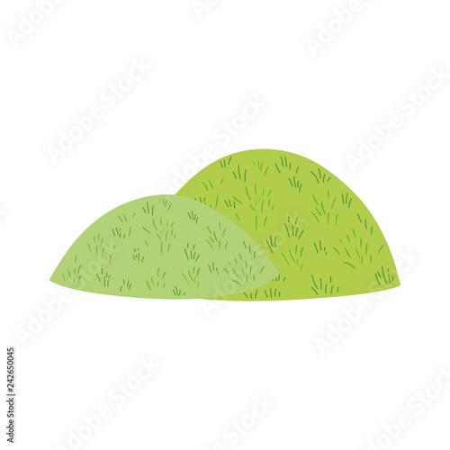 Foto  cute fairytale bush icon