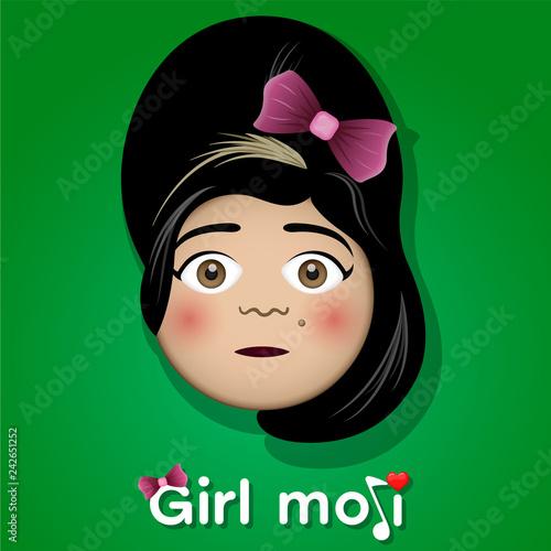 Fototapeta Amy Winehouse emoji