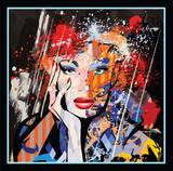 portret twarz kobiety - 242654852