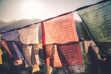 The Tibetan Colouful Preyer Fl...