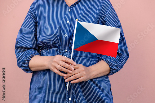 Photo  Czech Republic flag