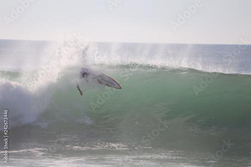 Fotografie, Obraz  surfeur sur une vague