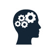 Leinwandbild Motiv business , creative solution icon