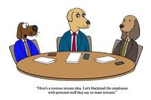 Dog Has A Fiendish Plan For Revenue