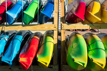 Selection Of Kayaks Available ...