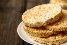 Salty Rice Crackers Galettes W...
